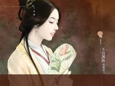 【手绘古装美女图片】手绘古装美女壁纸